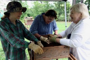 Field Workshops offer teachers a chance to excavate alongside professional archaeologists.