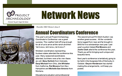 December 2005 Newsletter