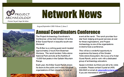 August-September 2005 Newsletter