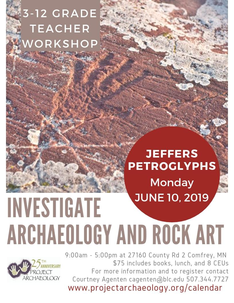 Investigate Archaeology and Rock Art @ Jeffers Petroglyphs
