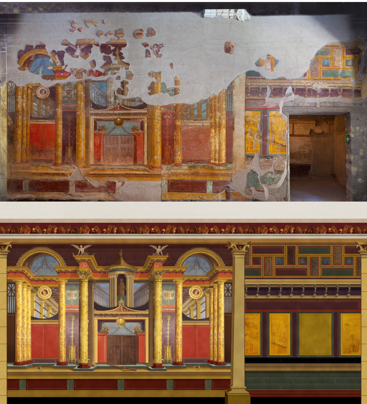 Why Would A Roman Create A Permanent Wall Painting Project Archaeology