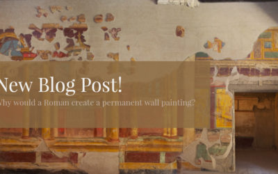 Why would a Roman create a permanent wall painting?