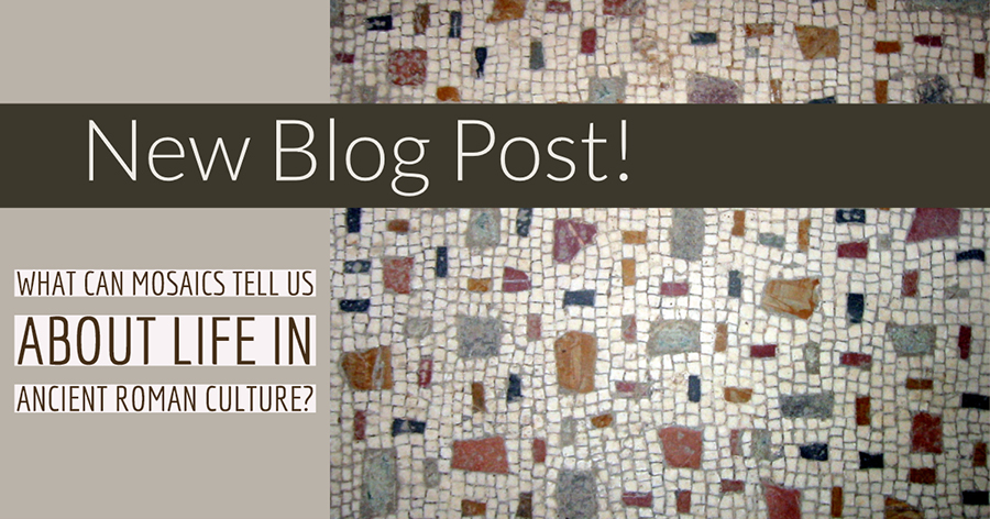What can mosaics tell us about life in ancient Roman culture?
