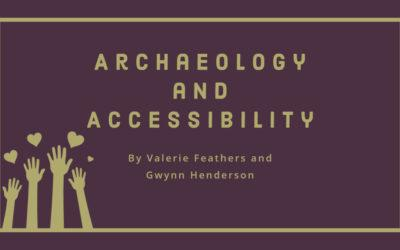 Archaeology and Accessibility