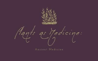 Plants as Medicine