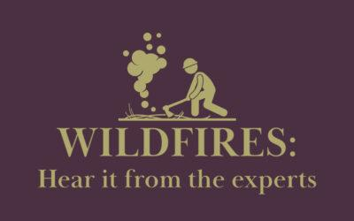 Wildfires–Hear It from the Experts