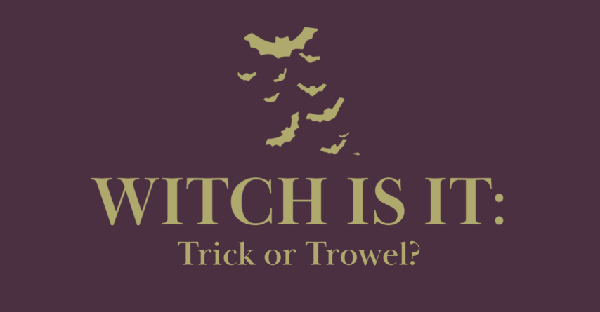 Witch is it: Trick or Trowel
