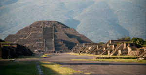 The ancient city of Teotihuacan (Photo from National Geographic)