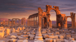 The city of Palmyra (photo from Nick Brundle Photography)