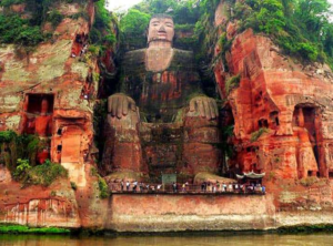 The Leshan Buddha (Photo from blogodisea)