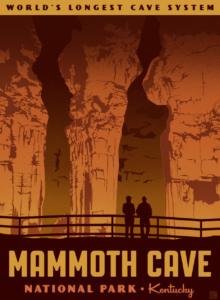mammoth cave postcards